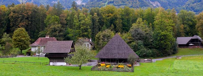 Belle découverte de l'habitat rural suisse au musée en plein air deBallenberg