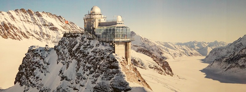 Montée à 3454m d'altitude grâce à l'extraordinaire circuit ferroviaire de la Jungfrau : magique!