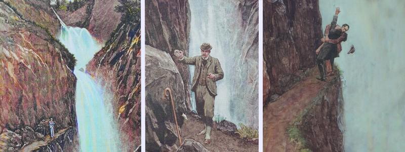 A la recherche du fantôme de Sherlock Holmes, du côté deMeiringen…