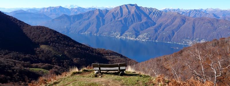 Superbe rando panoramique d'Alpe di Neggia à Indemini, via le MonteGambarogno…