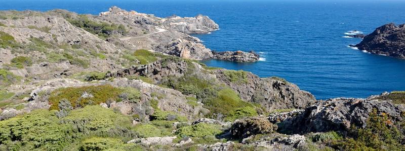 A vélo jusqu'au Cap de Creus, l'extrémité orientale de la péninsule ibérique!
